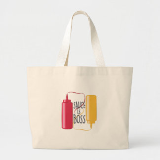 Sauce Is Boss Large Tote Bag