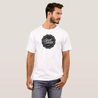 SauceCubaine black: tshirt man