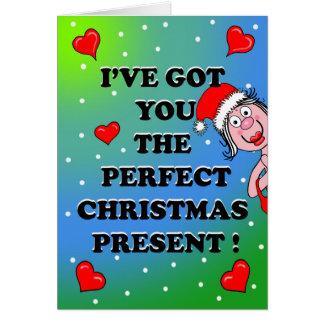 Saucy Christmas Card