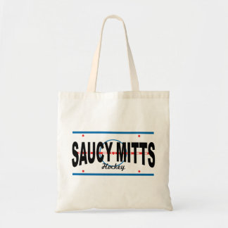 Saucy Mitts Hockey Center Ice Tote Bag