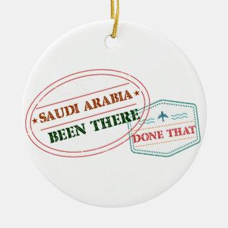Saudi Arabia Been There Done That Ceramic Ornament