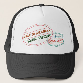 Saudi Arabia Been There Done That Trucker Hat