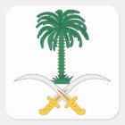 Saudi Arabia Coat of Arms Square Sticker