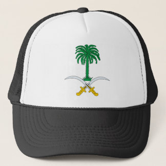 Saudi Arabia Coat of Arms Trucker Hat