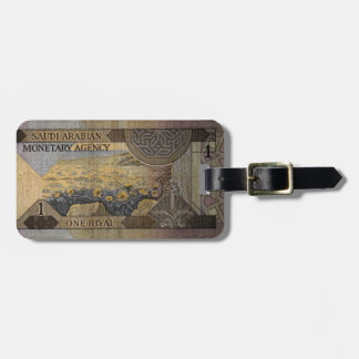 Saudi Arabia Currency Luggage Tag