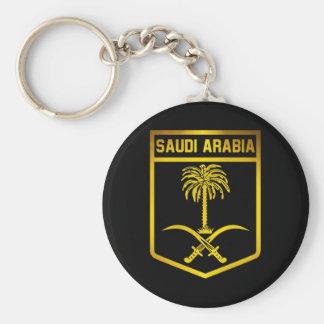 Saudi Arabia Emblem Keychain