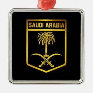 Saudi Arabia Emblem Metal Ornament