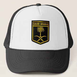 Saudi Arabia Emblem Trucker Hat