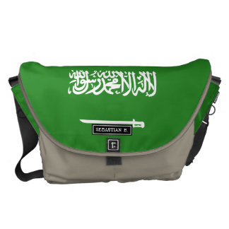 Saudi Arabia Flag Courier Bags