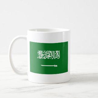 Saudi Arabia Flag ~ Map Mug