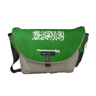 Saudi Arabia Flag Messenger Bags