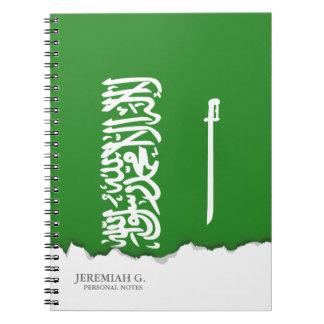 Saudi Arabia Flag Notebook