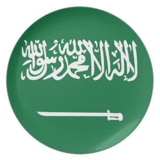 Saudi Arabia Flag Plate