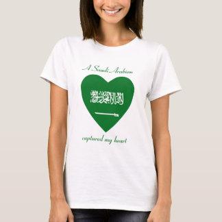 Saudi Arabia Flag Sweetheart T-Shirt