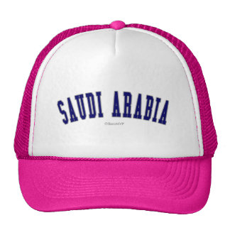 Saudi Arabia Trucker Hats
