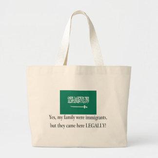 Saudi Arabia Jumbo Tote Bag