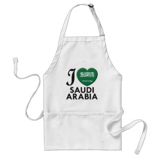 Saudi Arabia Love Standard Apron