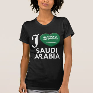 Saudi Arabia Love W T-Shirt