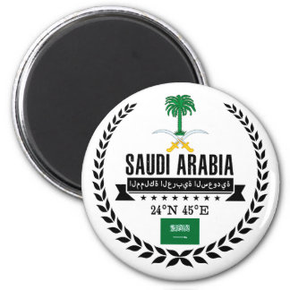 Saudi Arabia Magnet