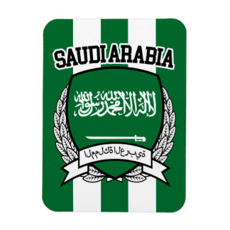 Saudi Arabia Rectangular Photo Magnet