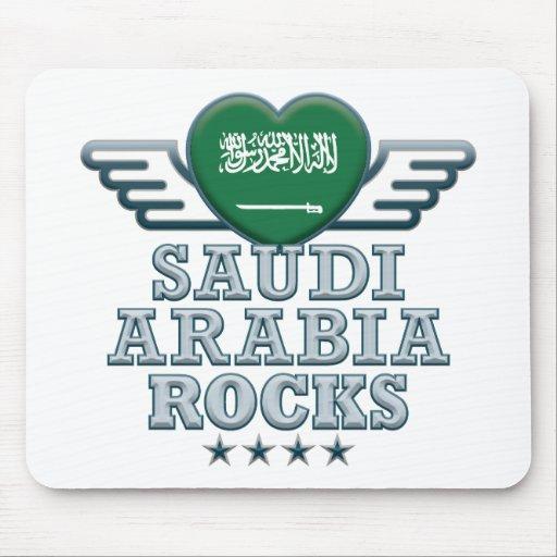 Saudi Arabia Rocks v2 Mouse Mats