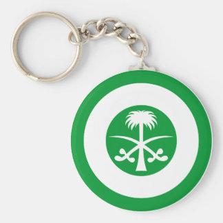 Saudi Arabia Roundel Keychain