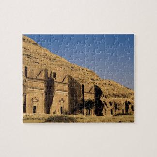 Saudi Arabia, site of Madain Saleh, ancient 2 Jigsaw Puzzle