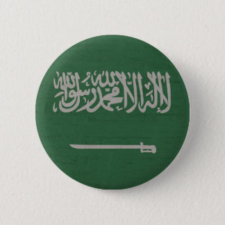 Saudi flag 2 inch round button