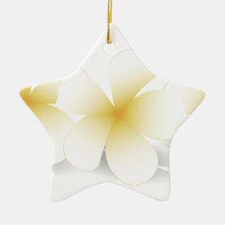 Saudi Flowers Merchandise Ceramic Ornament