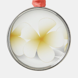 Saudi Flowers Merchandise Metal Ornament