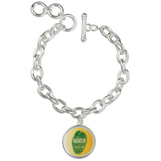Saudi touch fingerprint flag bracelet