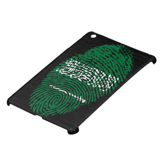 Saudi touch fingerprint flag case for the iPad mini