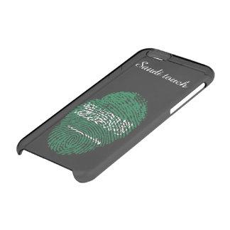 Saudi touch fingerprint flag clear iPhone 6/6S case