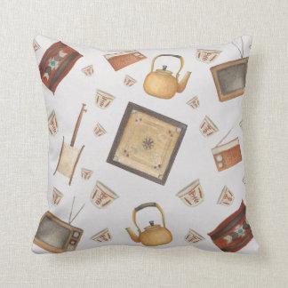 Saudi Traditional items Throw Pillow