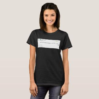 Saudi women driving black shirt. T-Shirt
