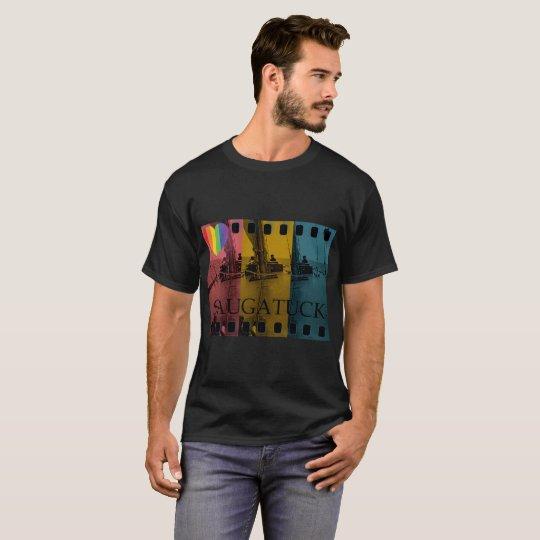 Saugatuck Michigan Sailing Shirt Rainbow Gay
