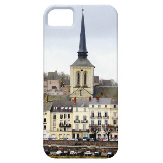 Saumur River Bank Scene iPhone Case