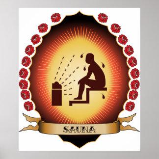 Sauna Mandorla Posters