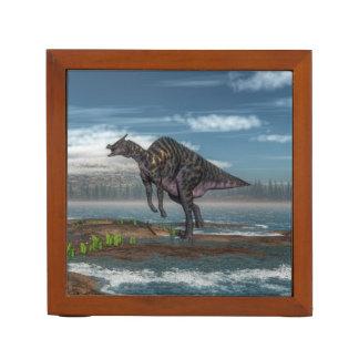 Saurolophus dinosaur - 3D render Desk Organizer