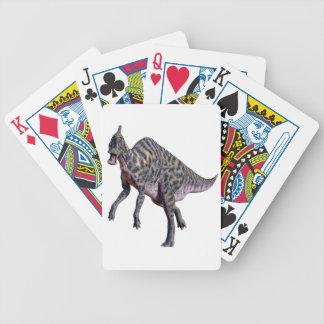 Saurolophus Dinosaur Bicycle Playing Cards