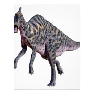 Saurolophus Dinosaur Letterhead