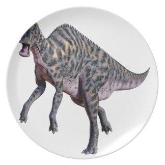 Saurolophus Dinosaur Plate
