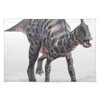 Saurolophus Dinosaur Walking on all Four Legs Placemat