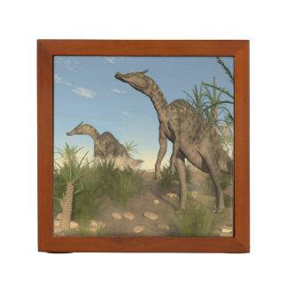 Saurolophus dinosaurs - 3D render Desk Organizer