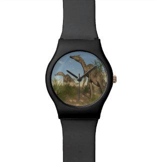 Saurolophus dinosaurs - 3D render Watch