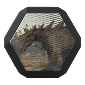 Sauropelta dinosaur - 3D render Black Bluetooth Speaker