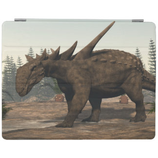 Sauropelta dinosaur - 3D render iPad Cover