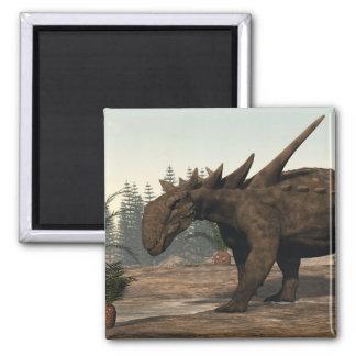 Sauropelta dinosaur - 3D render Magnet