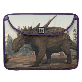 Sauropelta dinosaur - 3D render Sleeve For MacBooks