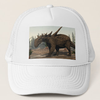 Sauropelta dinosaur - 3D render Trucker Hat